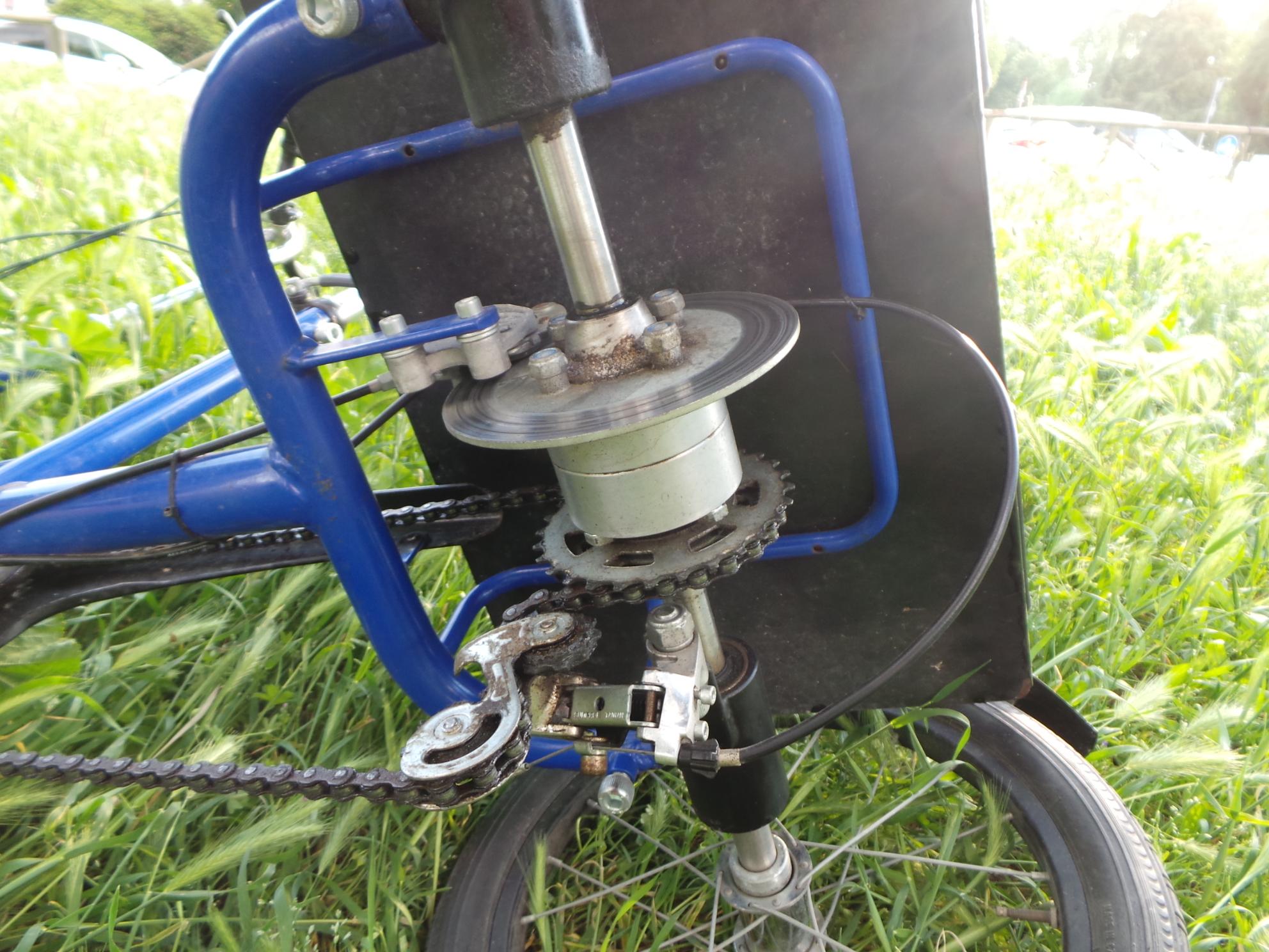 Triciclo Ormesa 207 3 Bici Freno Cambio